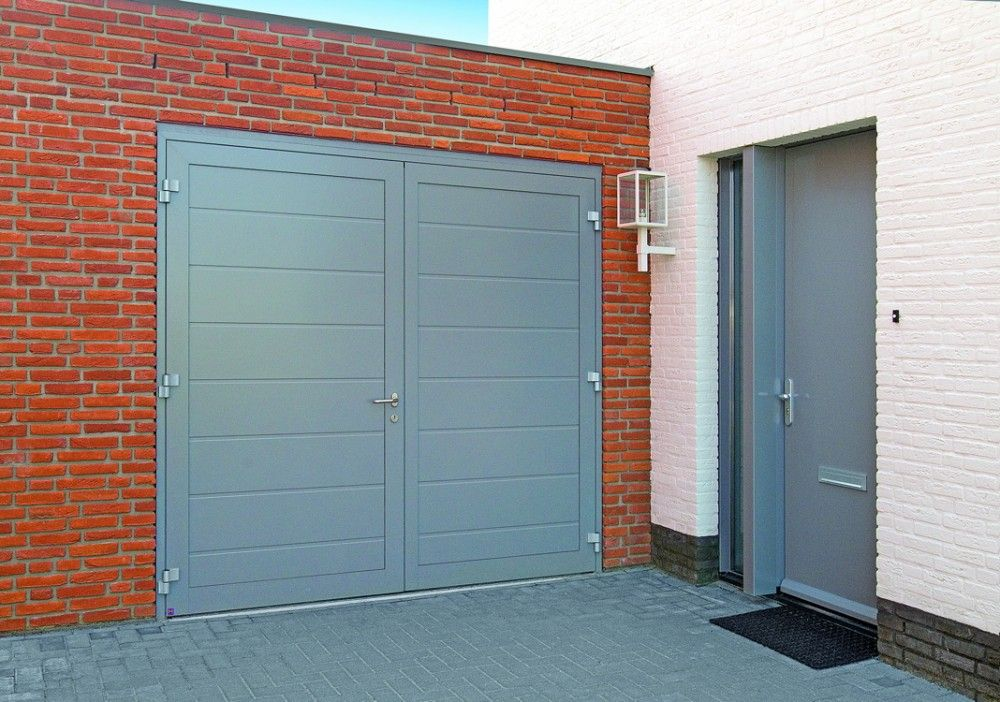 We Offer A Wide Selection Of Steel Side Hinged Garage Doors. For More  Information And