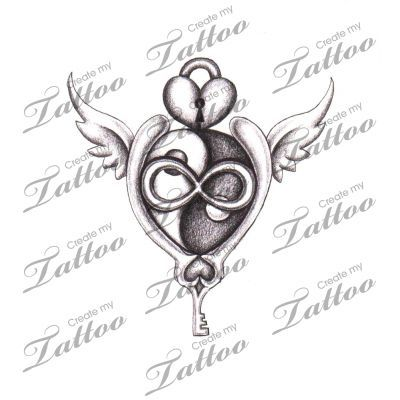 Tribal Eternal Love Tattoos Love Tattoo Design Moon Tattoo
