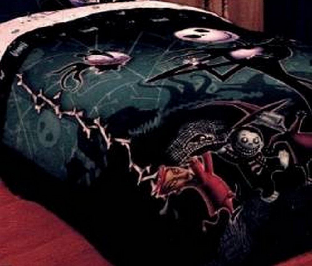 Funky Nightmare Before Christmas Bedding, Sheets & More | Christmas ...