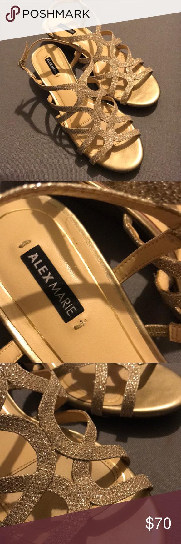 5a9c1e65524 ALEX MARIE WEDGE SHOES Brand new Never worn! Size 8.5M Alex Marie ...