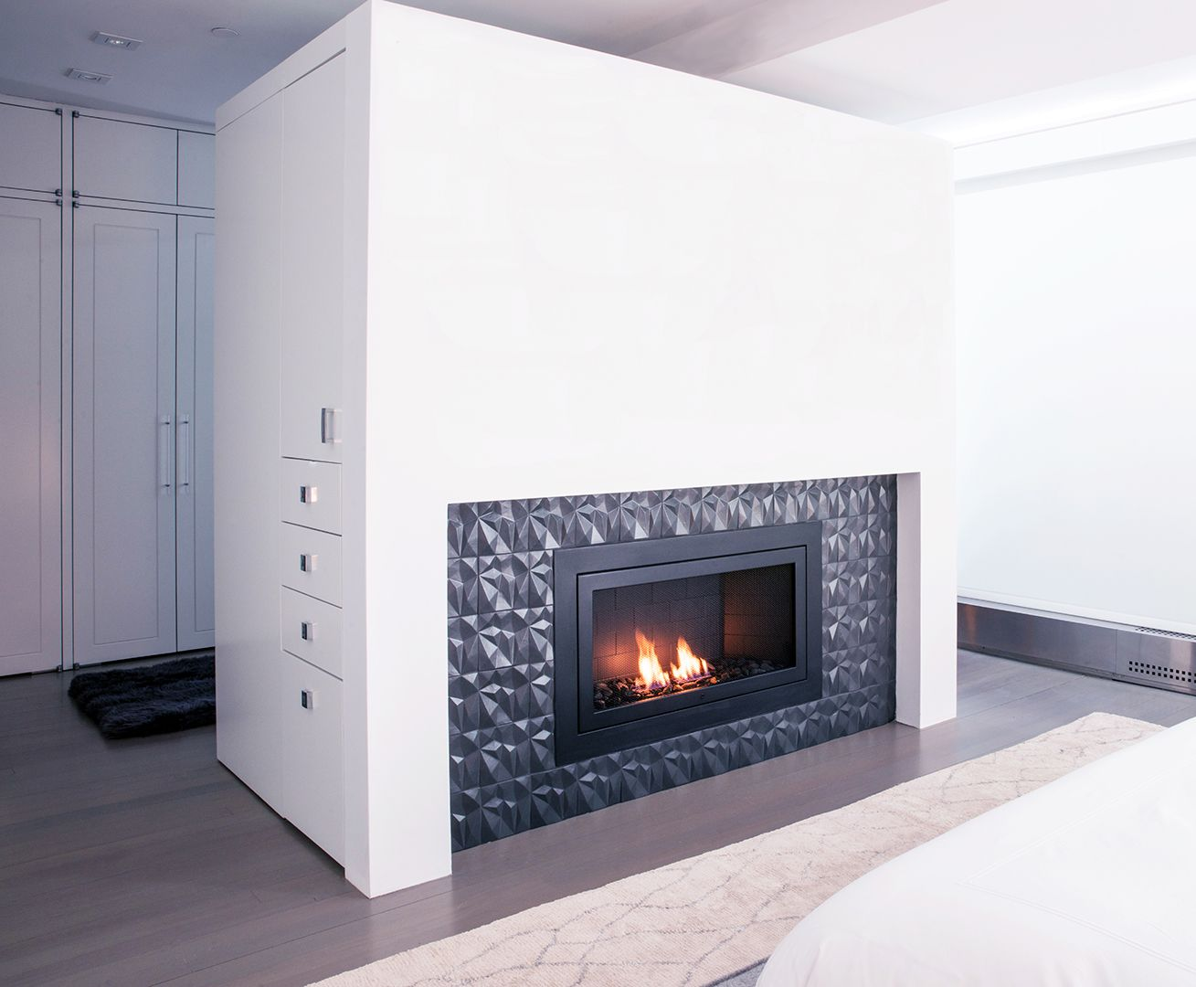 No Chimney Or Connection Required A Beautiful Fireplace In The