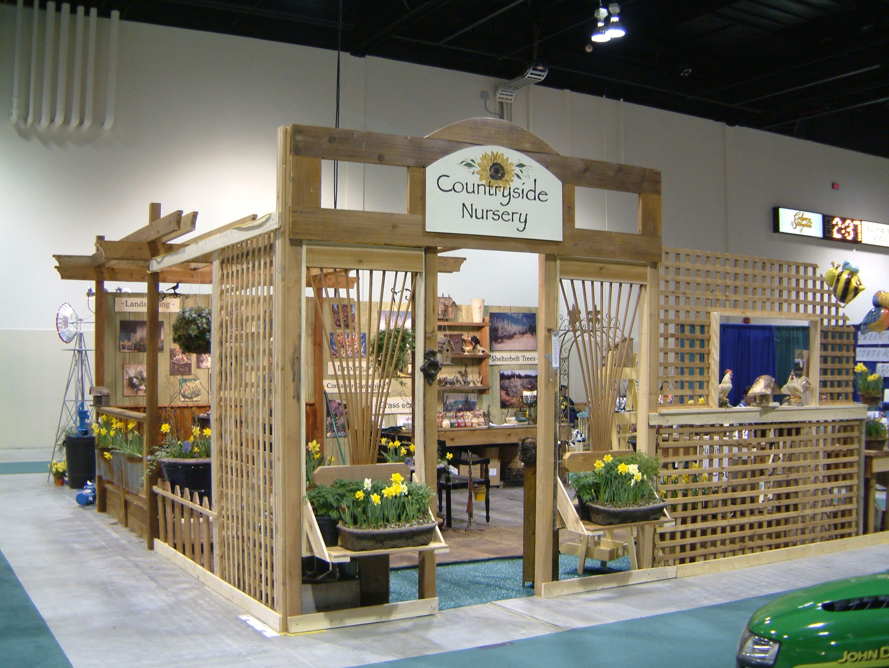 2003 Countyside Garden Centre had it's first booth at the