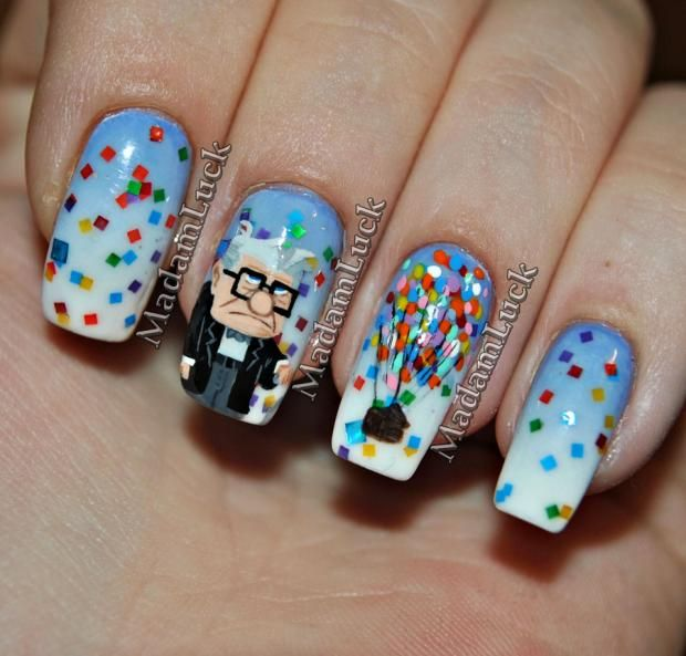 Nailed It: 13 Amazingly Intricate Nail Designs | Makeup, Art nails ...