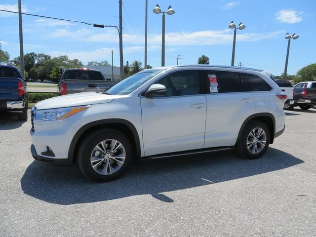 2014 Toyota Highlander XLE V6   Germain Toyota Of Sarasota