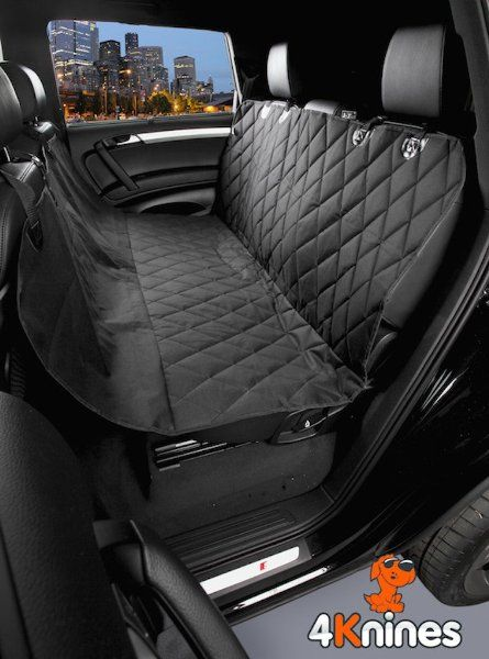 Black Regular Dog Seat Cover Water Resistant Quilted Rear Bench Seat Protector With The Best Nonslip Rubb Dog Seat Covers Pet Car Seat Covers Pet Seat Covers