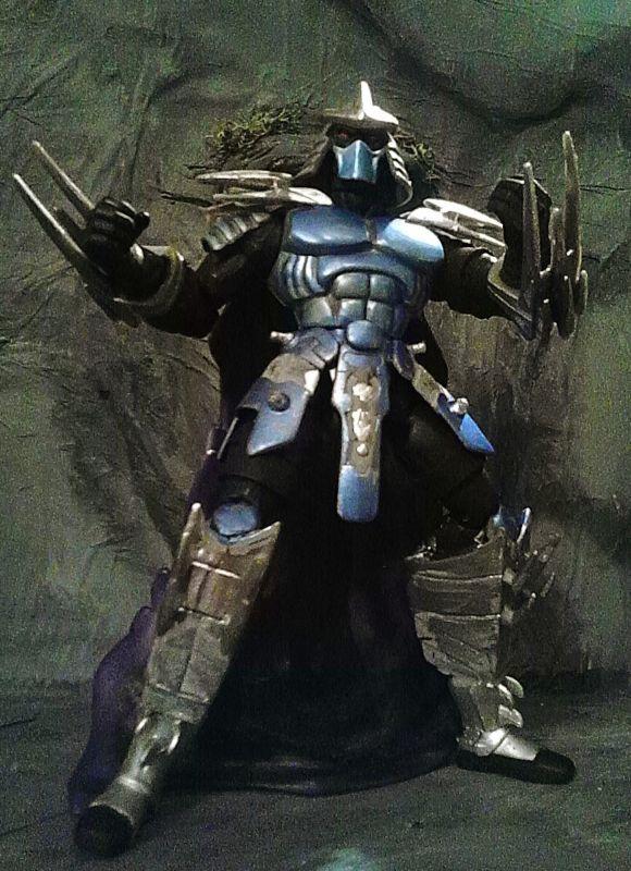 The Shredder 2003 Teenage Mutant Ninja Turtles Custom Action