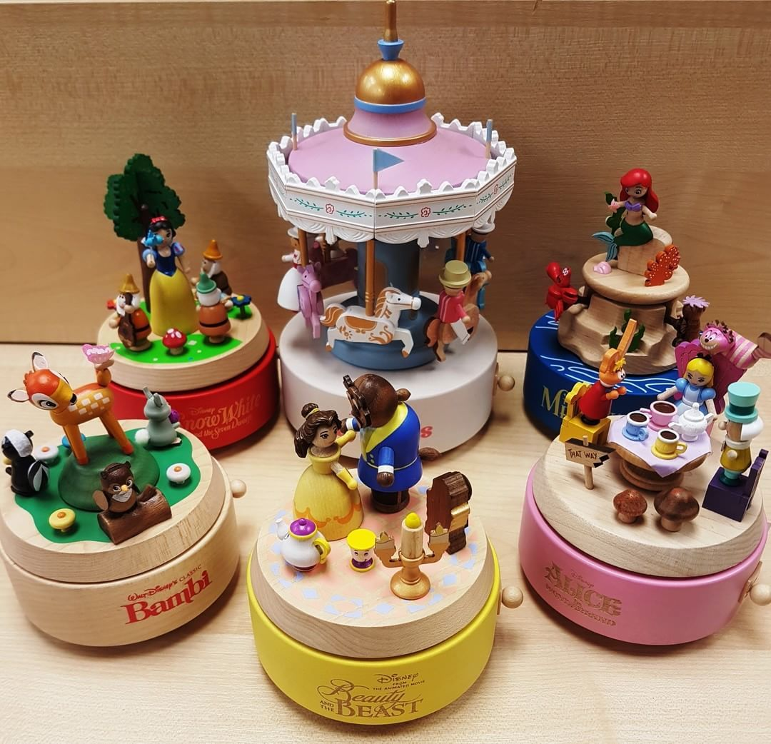 New Wooderful Life Disney Music Boxes Online Now Wooderfullife