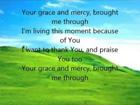 Your Grace And Mercy Video And Lyrics By The Mississippi Mass Choir Gospel Song Gospel Music Songs