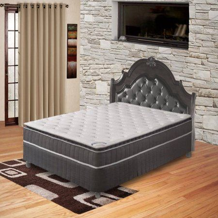 Acura Collection Orthopedic King Size Mattress with 5-Inch Box Spring Spring Coil Mattress,Pillow Top,Pocketed Coil