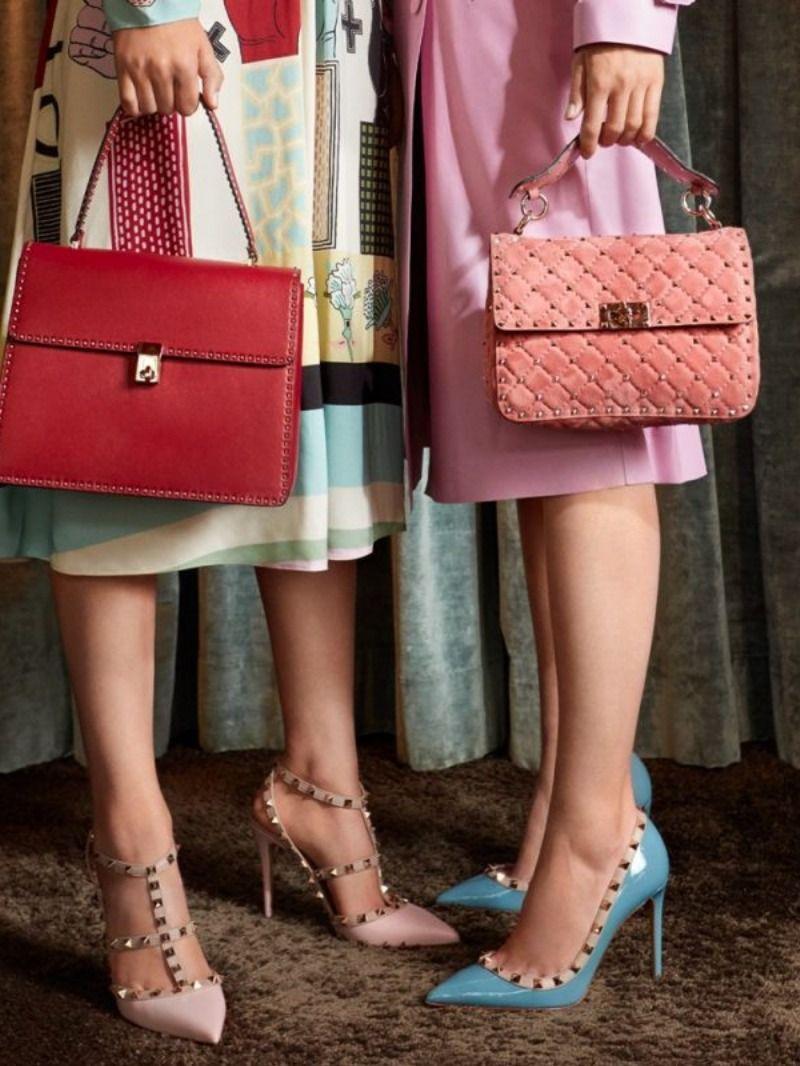 valentino pumps pink