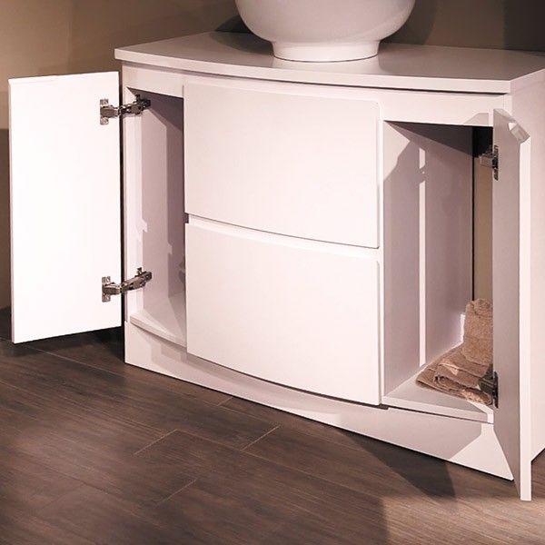 Voss 1010 Floor Mounted Door And Drawer Basin Unit