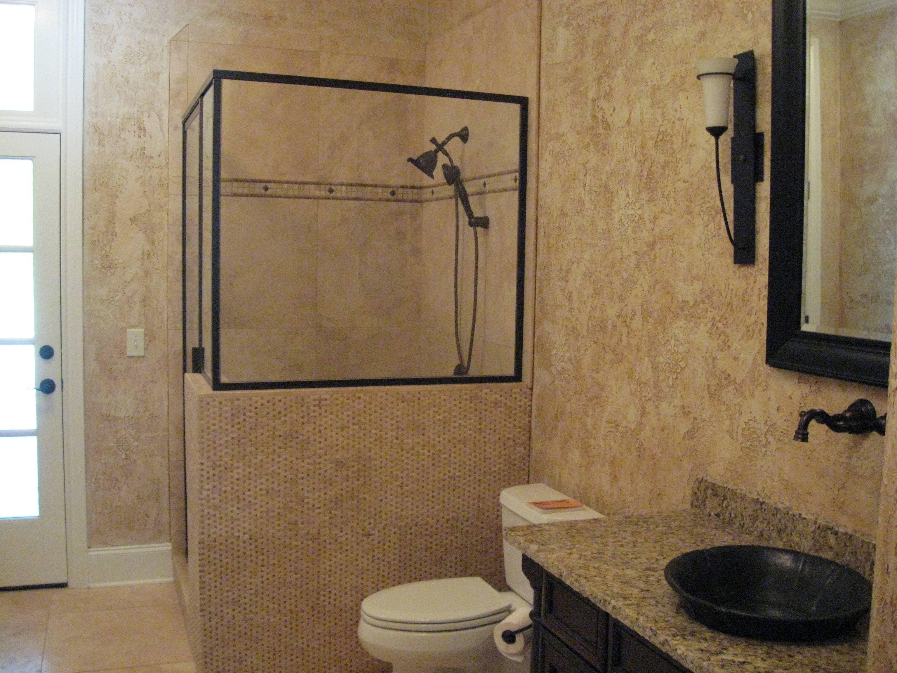 Bathroom - Black Shower Frame   New House   Pinterest   Bathroom ...