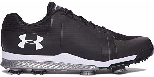 45143abb314 Mens Golf Shoes Idea | Mens Under Armour Tempo Sport Golf Spikes  BlackGraphiteWhite Size 11 M US >>> Check out this great product. Note:It  is Affiliate Link ...