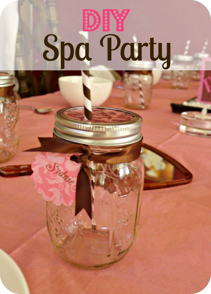 spa party diy spa spa party and craft