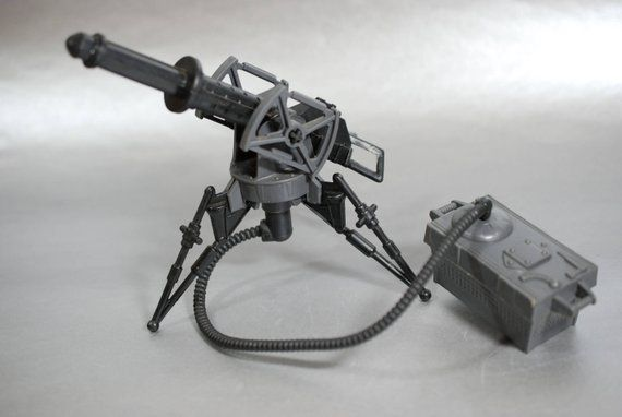 STAR WARS LEG REPLACEMENT PART FOR IMPERIAL TRI-POD LASER CANNON