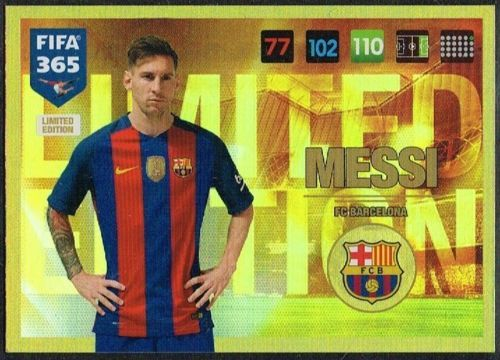 Details About Panini Fifa 365 2016 2017 Limited Edition Football