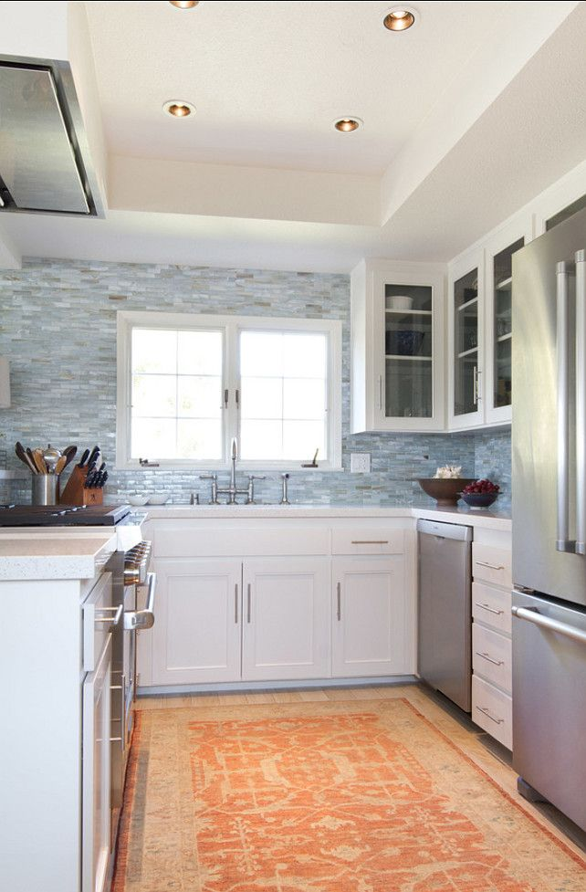 Tiny Home Designs: Small Kitchen Ideas. Very Cute #Small #Kitchen! Love It
