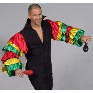 costume homme carnaval de rio deguisement chemise rio. Black Bedroom Furniture Sets. Home Design Ideas