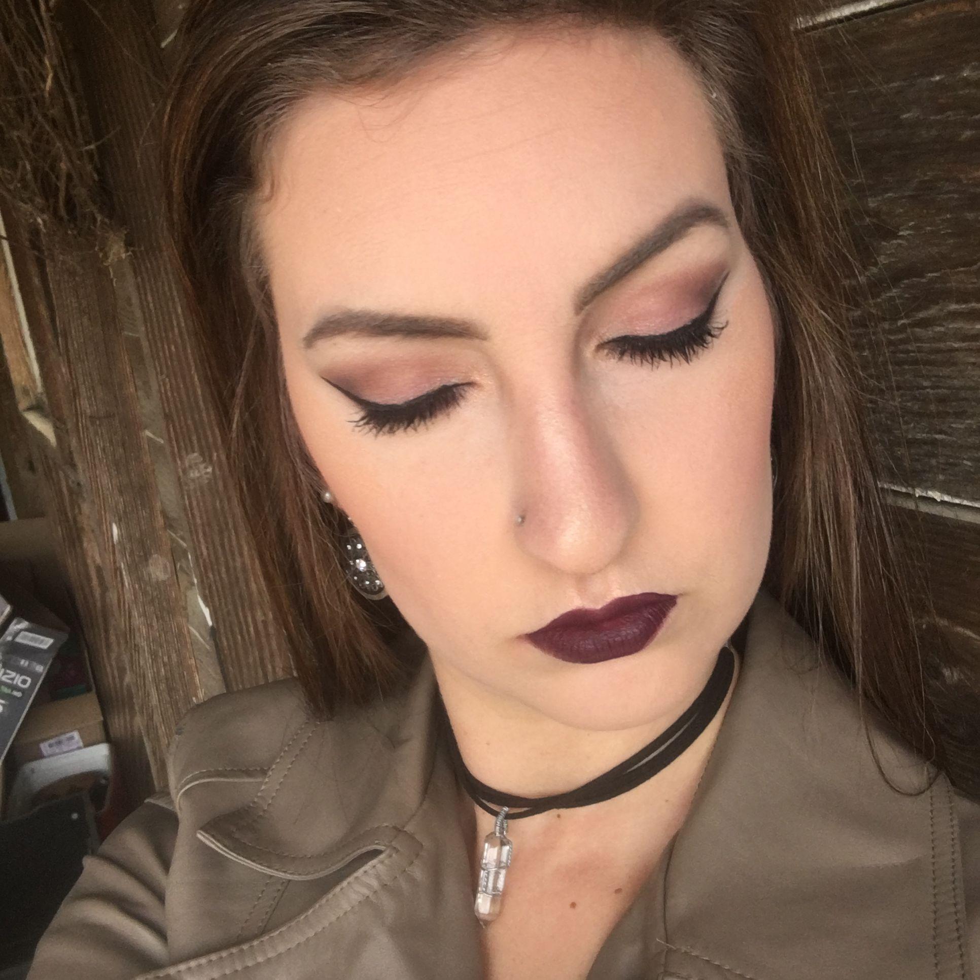 Fall makeup inspiration ColourPop Ultra Satin Lip in