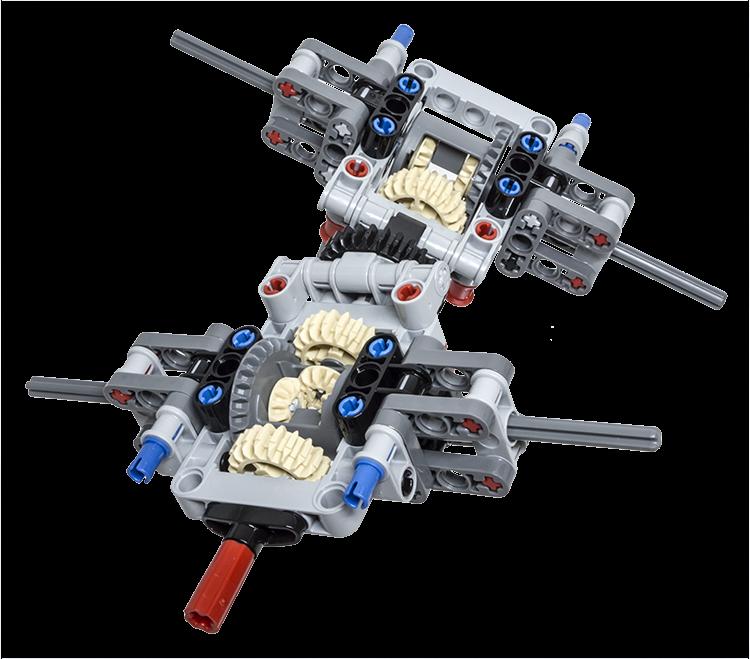 Lego Technic Building Tip Multiple Axle Differentials Lego