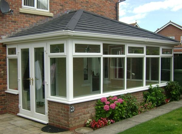'Supalite' reroof on conservatory Bungalow extensions