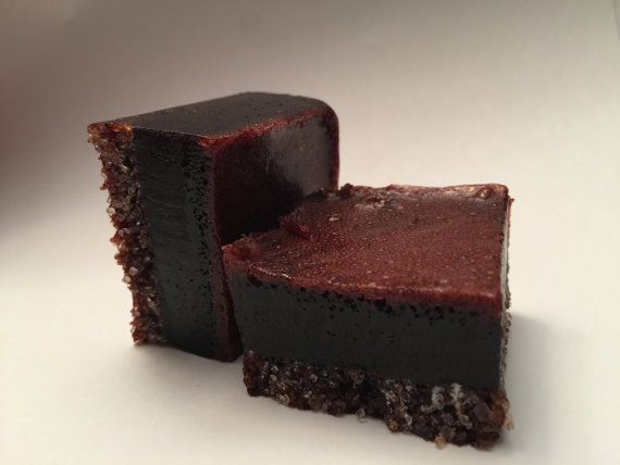 Sugar Square Chocolate Soap Scrub by SimplySkintastic on Etsy