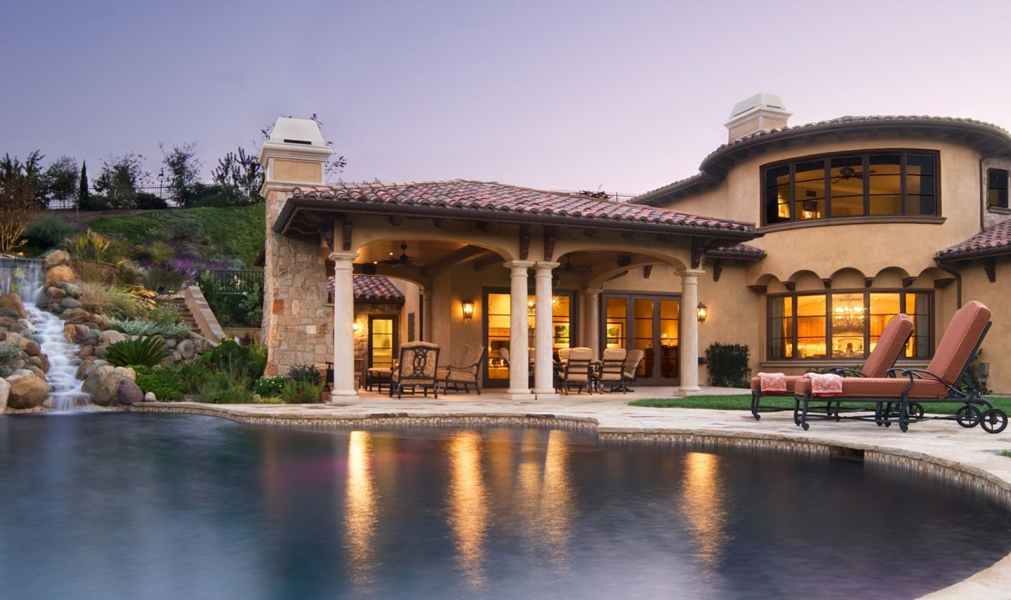 This Stunning Custom Home Was Completed By Agoura Sash Door Inc Luxela Portal