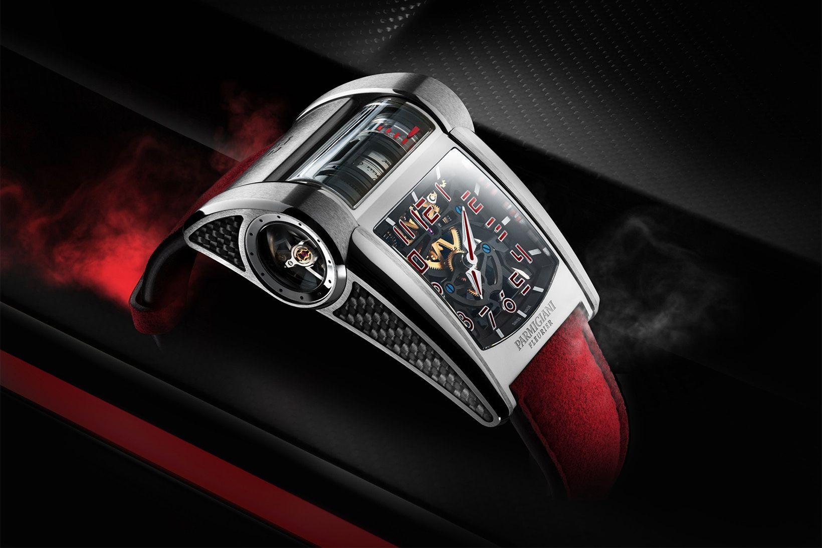 Para conduzir um Bugatti Chiron Sport, é este o relógio