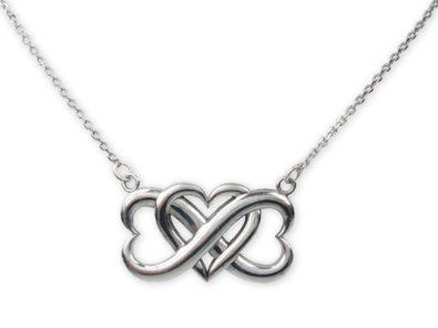 Triple heart infinite love pendant sieraden pinterest triple heart infinite love pendant aloadofball Image collections