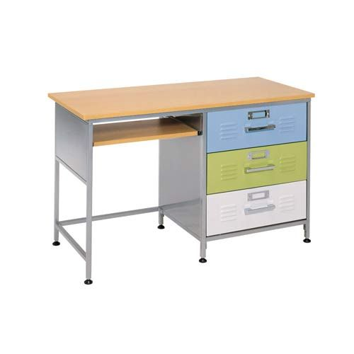Locker Three Drawer Desk American Furniture Alliance Desks Kids Furniture  Childrens