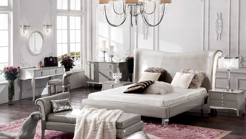Grigio Perla Bedroom Furniture Design Collection by Casa Shamuzzi ...
