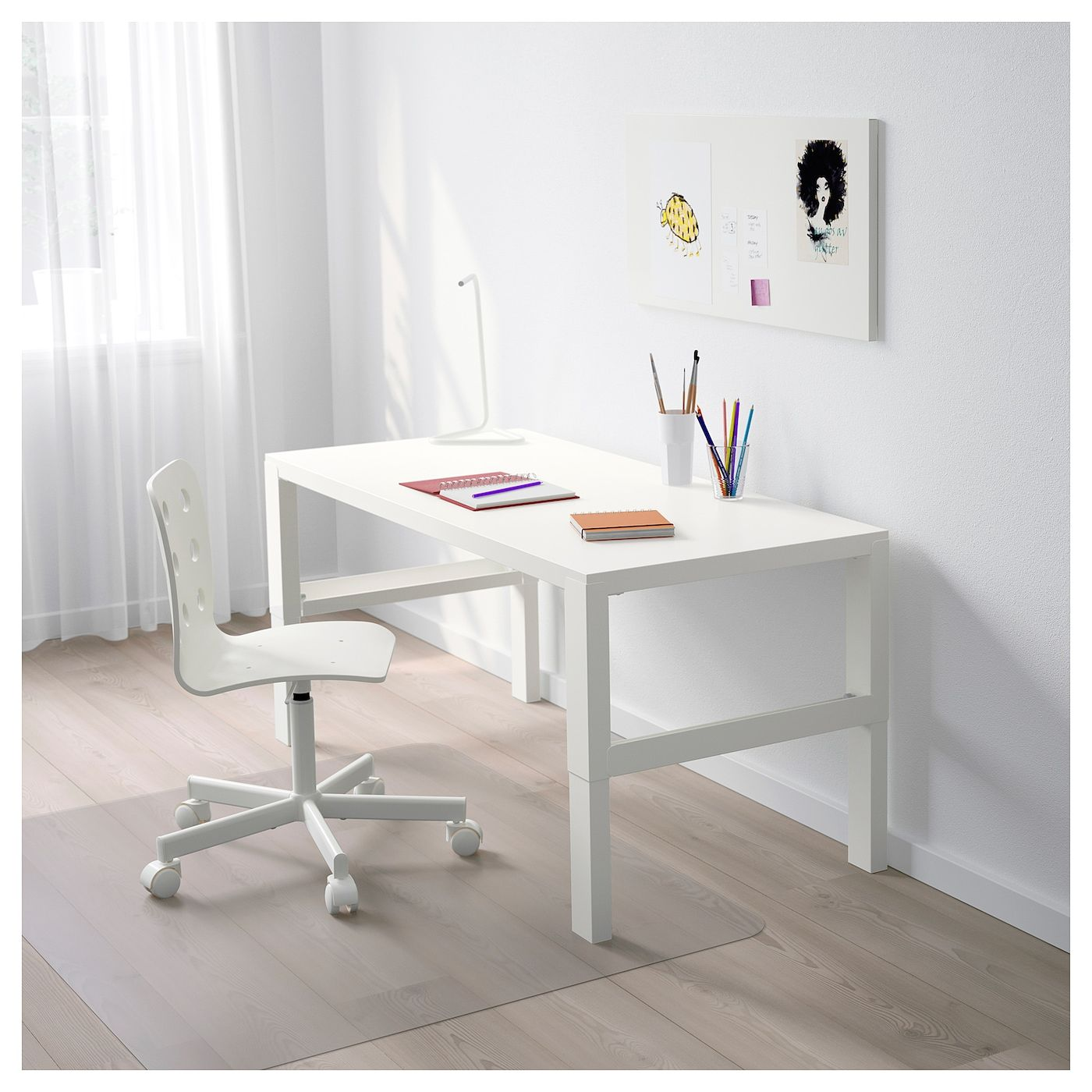 ikea pahl white desk in 2020 white desks home office