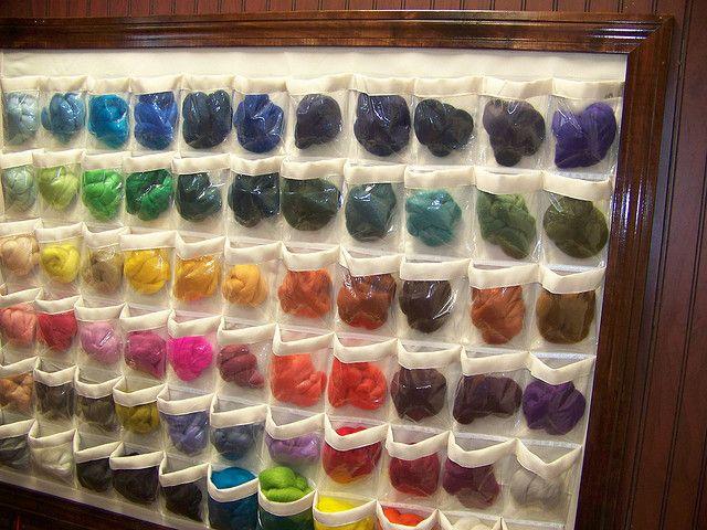 wool storage idea & wool storage idea | Getting Crafty and/or Organized! | Pinterest ...