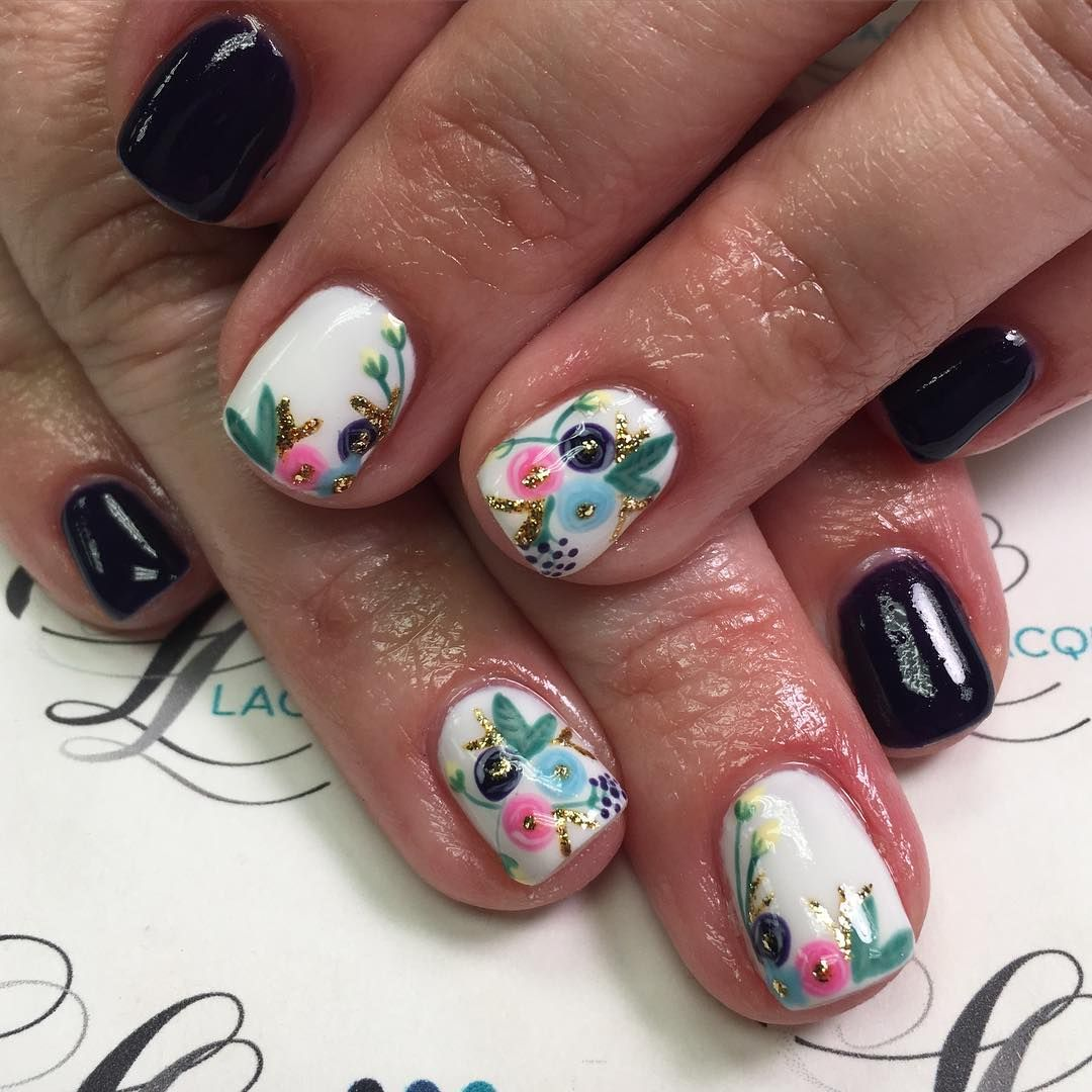 More of these fun spring nails! #nails #gelnails #nailstagram ...