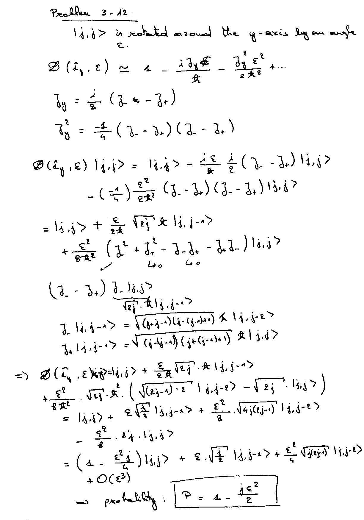 Quantum Mechanics Equations