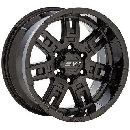 Styled after one of the best known innovations in off road history, Mickey Thompsons revolutionary tread on the sidewall tire design called SideBiters(R), this wheel is built to be a heavy duty performer with an easy to clean satin finish and exceptional styling designed to make your jeep, truck, or 4 x 4 look great! Size: 16x8 inches. Color: Black.