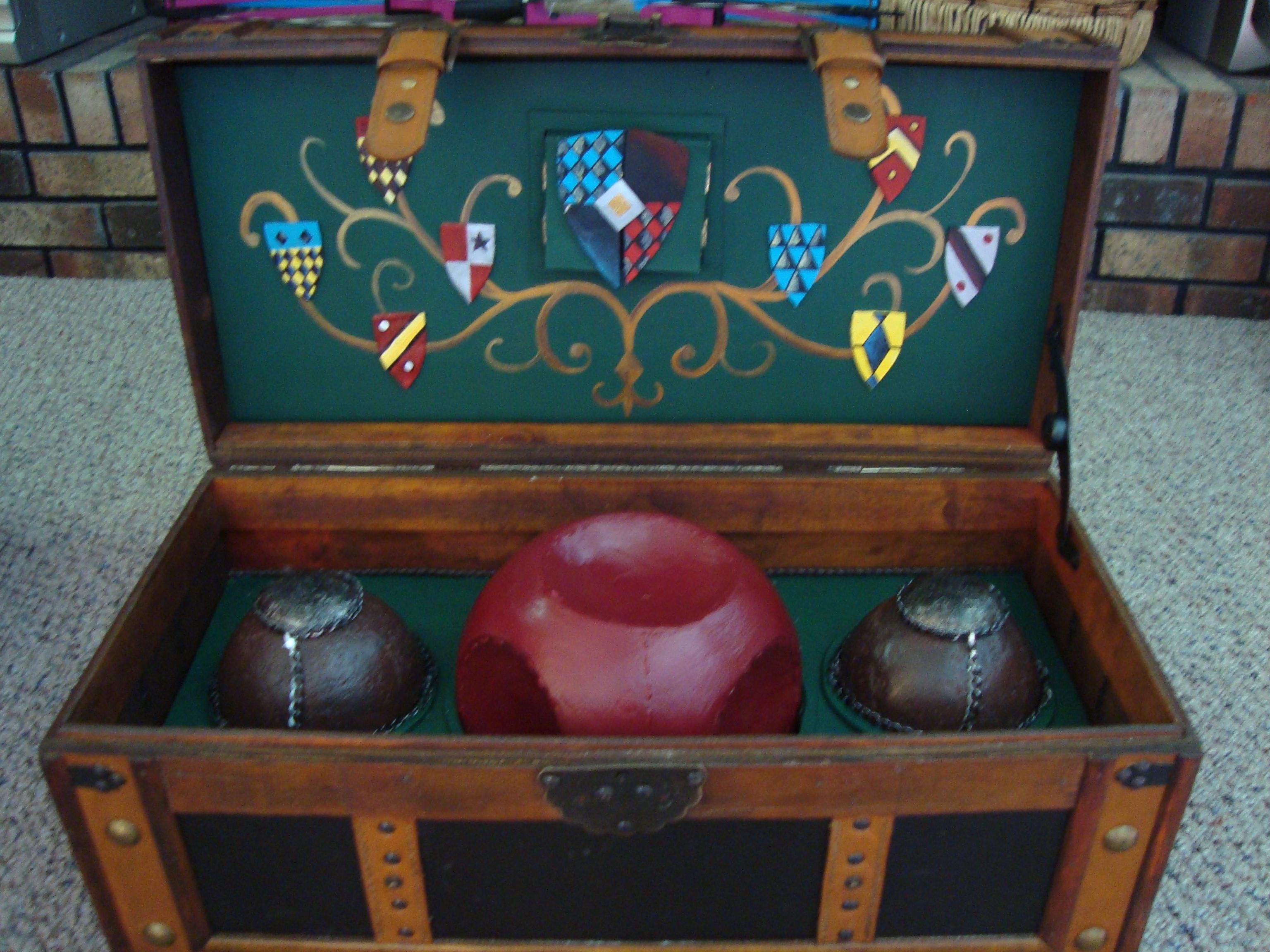 Homemade Quidditch Trunk Harry Potter Harry Potter