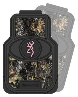 Signature Automotive Browning® Mossy Oak® Break-Up® Pink 3-D Floor Mat - Set of 2 | Bass Pro Shops
