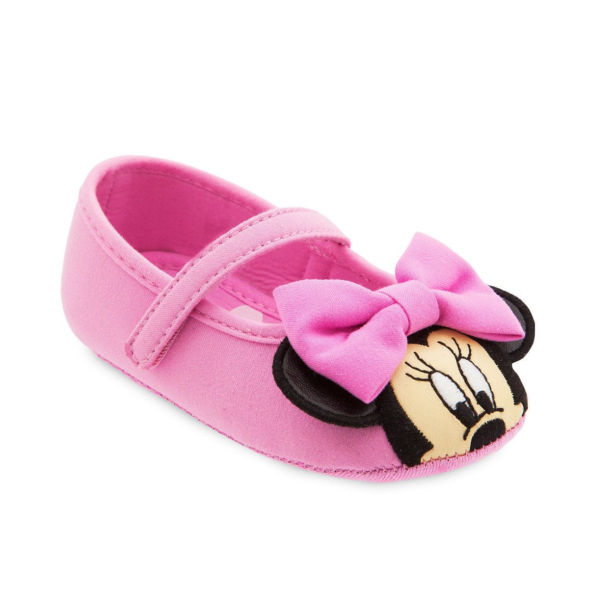 7d4557eb114f6 Product Image of Minnie Mouse Costume Shoes for Baby - Pink   1