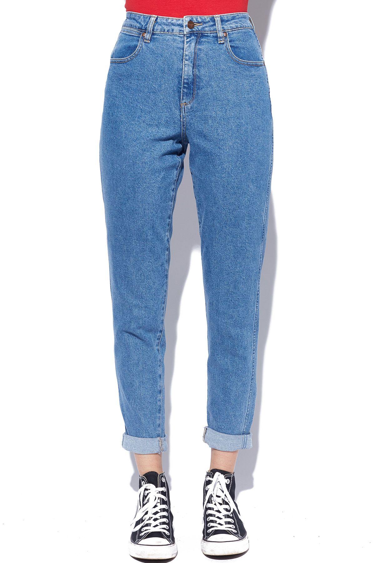 74e07967 WRANGLER Tyler Jean Isla Blue   Pieces   Slim jeans, Mom jeans, Blue