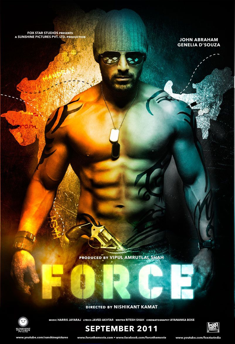 BEST NEW MOVIES !! by PHOTOS ARE US ! Force movie, Hindi