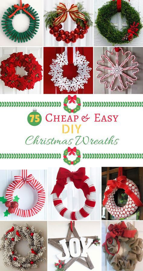 100 Best Diy Christmas Wreaths Easy Christmas Diy Christmas Wreaths Diy Easy Christmas Wreaths
