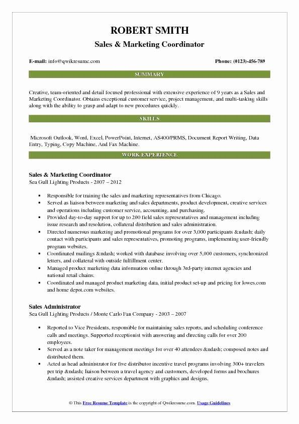 20 inside sales job description resume