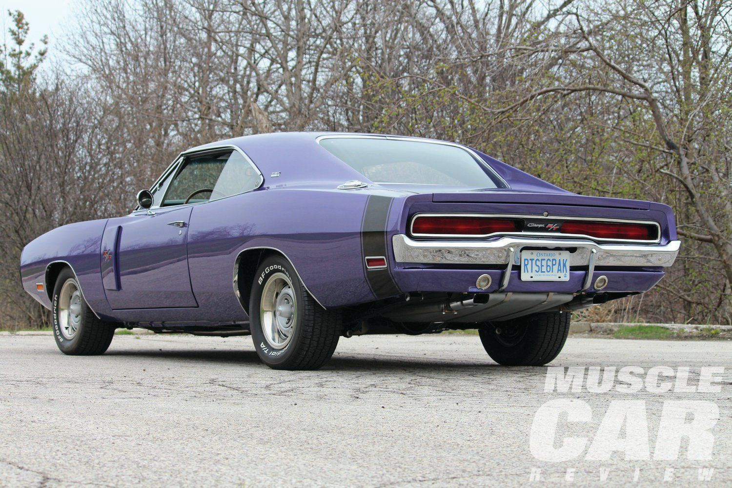 Muscle Car Rear End 1970 Dodge Charger Rt Rear End American
