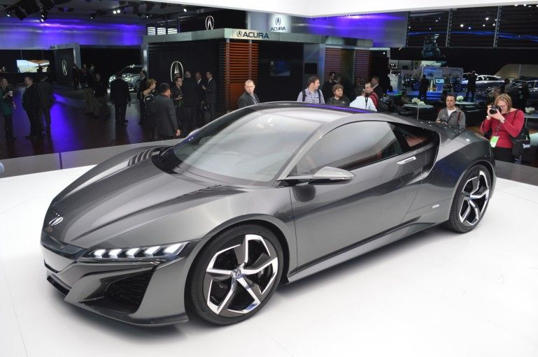 Acura Opens The Doors On Latest Nsx Concept At Naias Nsx Acura Acura Nsx