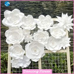 Source paper flower wall decoration wedding decoration paper source paper flower wall decoration wedding decoration paper flower backdrop on mibaba junglespirit Choice Image