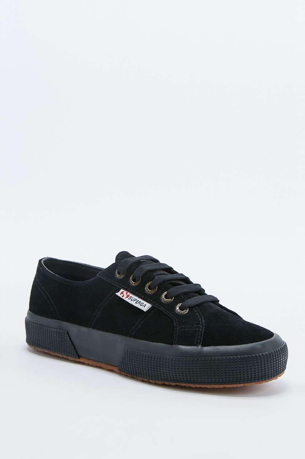 Zapatos negros con cordones SUPERGA Cotu para hombre L8dfxuot