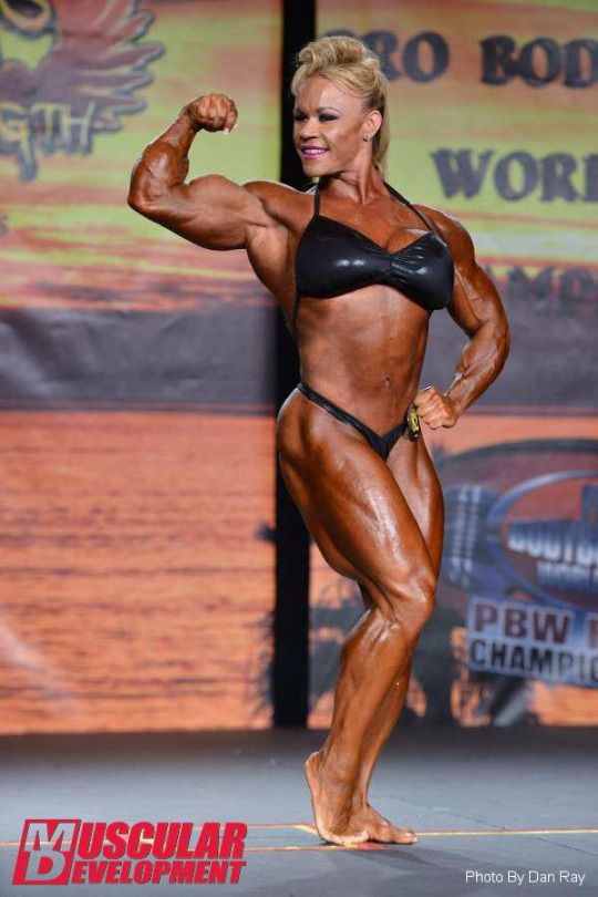 Aleesha Young With Superior Forearms And Biceps And Thighs The Queen Of Fbb Sex Appeal Aces The Pre Judging At The 2015 Tampa Bay Pro In Womens