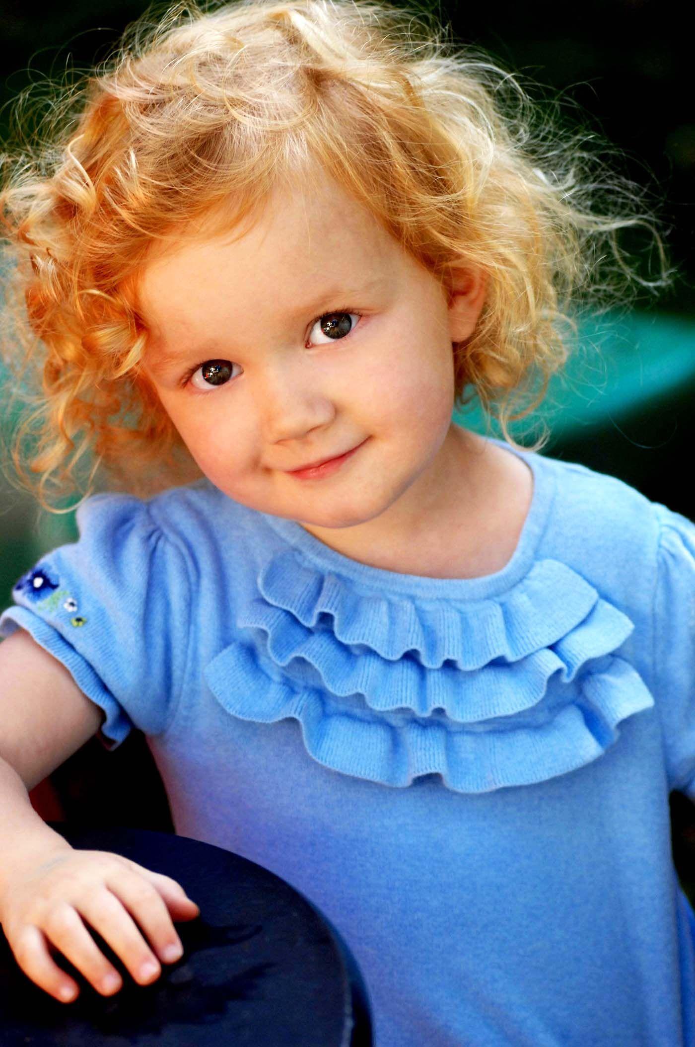 Kids Headshot In Natural Light Soft Backlighting Www