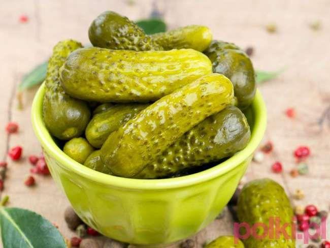 Ogorki Korniszony Sprawdzony Przepis Na Idealnie Chrupiace Ogorki Polki Pl Recipe Food Cooking Cucumber
